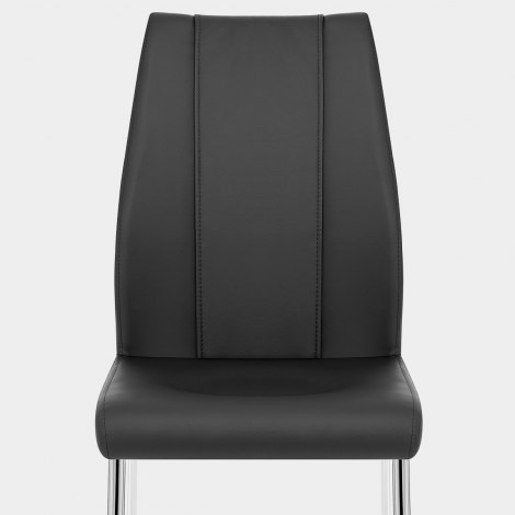 Maxwell Dining Chair Black Seat Image