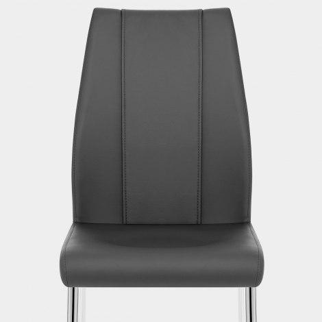 Maxwell Dining Chair Grey Seat Image