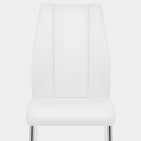Maxwell Dining Chair White Seat Image