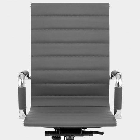 Metro Office Chair Grey Seat Image