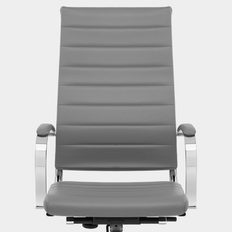 Metro Office Chair Grey Seat Image