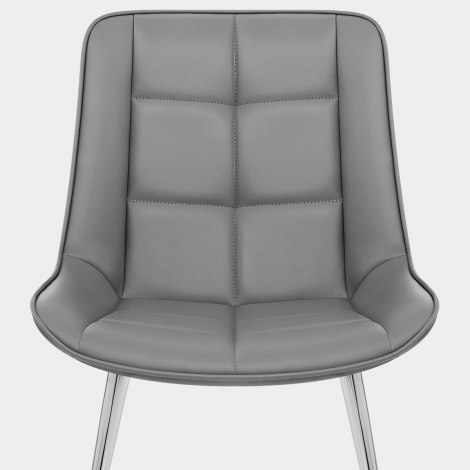 Milano Dining Chair Grey Seat Image