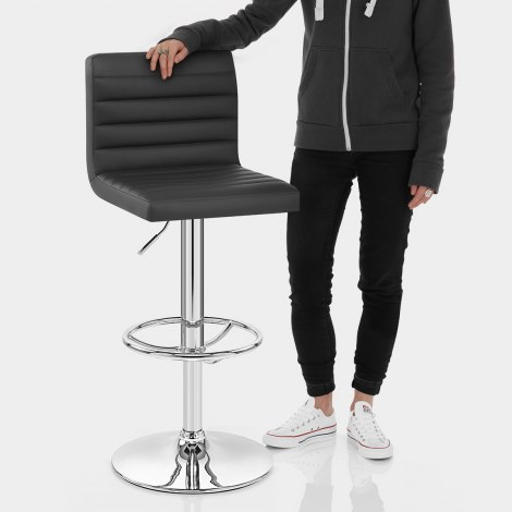 Mint Bar Stool Black Features Image