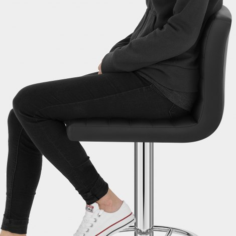 Mint Bar Stool Black Seat Image