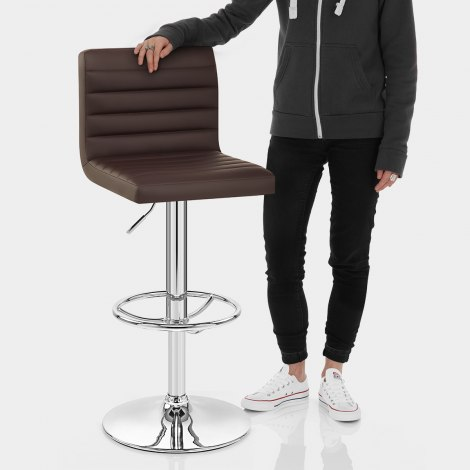 Mint Bar Stool Brown Features Image