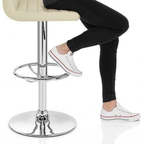 Mint Bar Stool Cream Seat Image