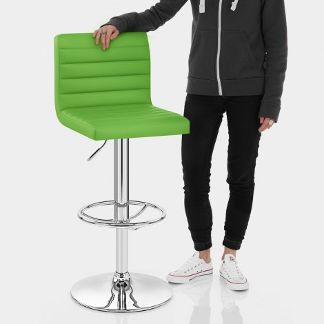 Mint Bar Stool Green Features Image