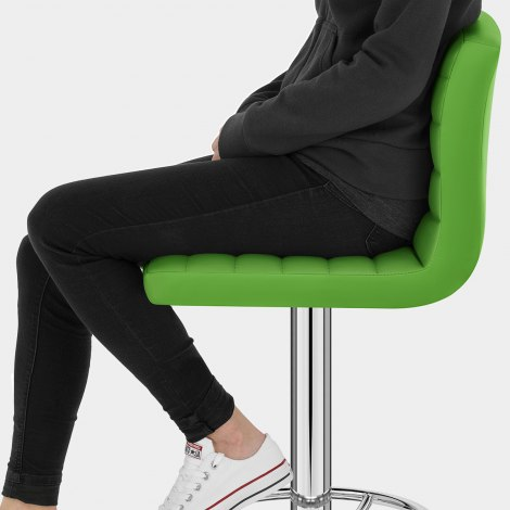Mint Bar Stool Green Seat Image