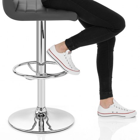 Mint Bar Stool Grey Seat Image