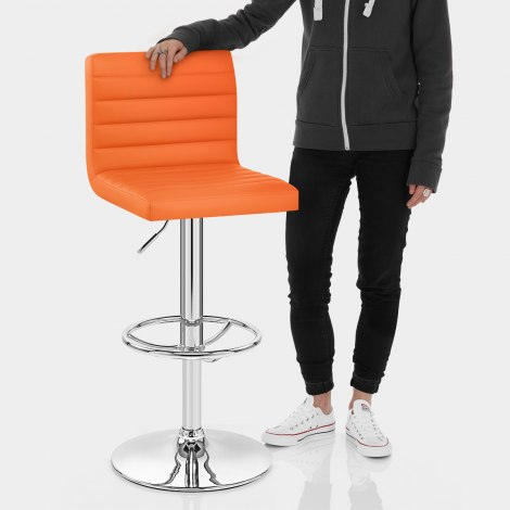 Mint Bar Stool Orange Features Image