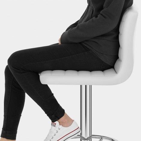 Mint Bar Stool White Seat Image