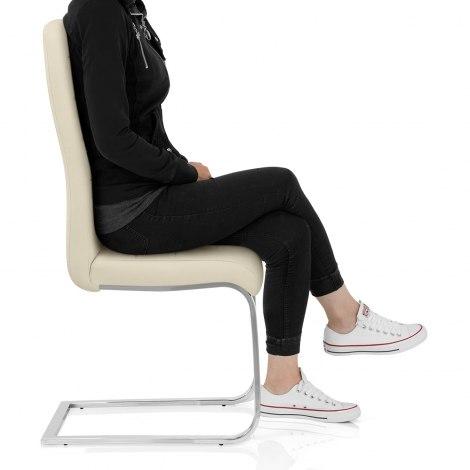 Monet Dining Chair Cream Frame Image