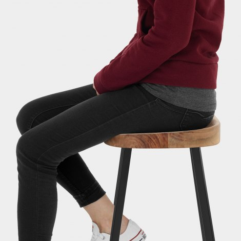 Mulberry Industrial Stool Seat Image