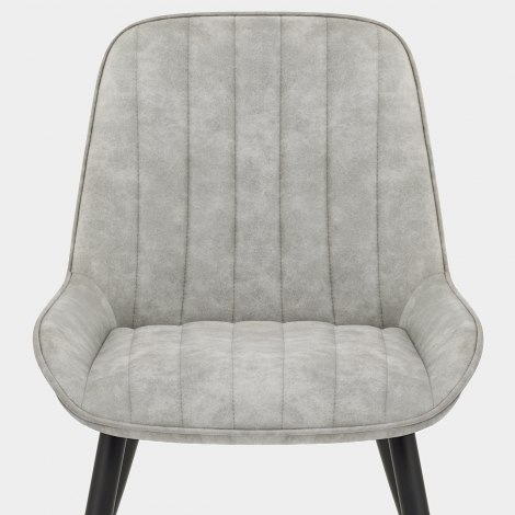 Mustang Chair Antique Light Grey Seat Image