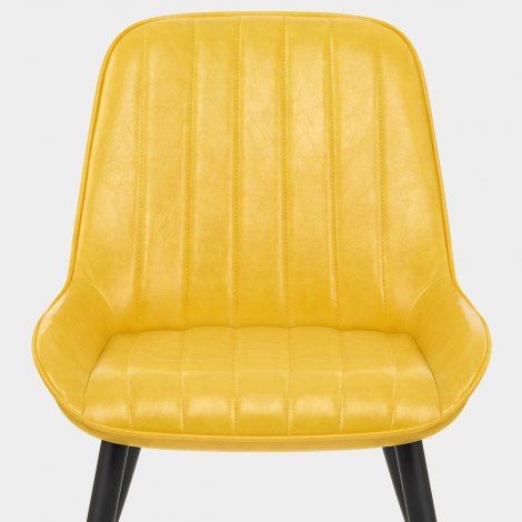 Mustang Chair Antique Yellow Seat Image