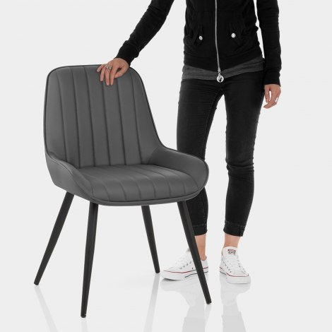 Mustang Chair Grey Features Image