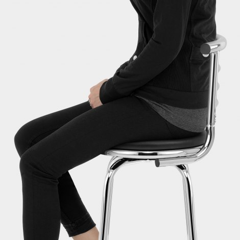 Narrow Back Stool Seat Image