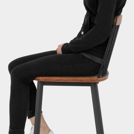 Nash Industrial Bar Stool Seat Image