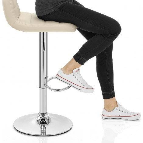 Nexus Bar Stool Cream Seat Image