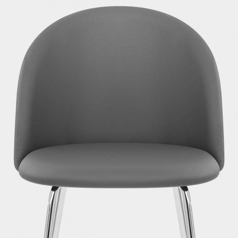 Novello Dining Chair Charcoal Seat Image