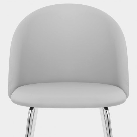 Novello Dining Chair Light Grey Seat Image