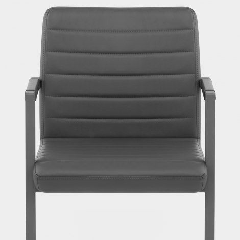 Omega Dining Chair Grey Seat Image