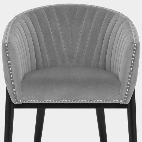 Overture Chair Grey Velvet Seat Image