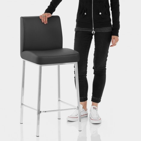 Pacino Stool Black Features Image