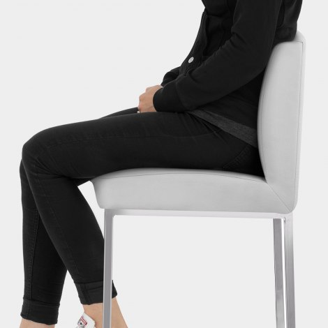 Pacino Stool Grey Seat Image