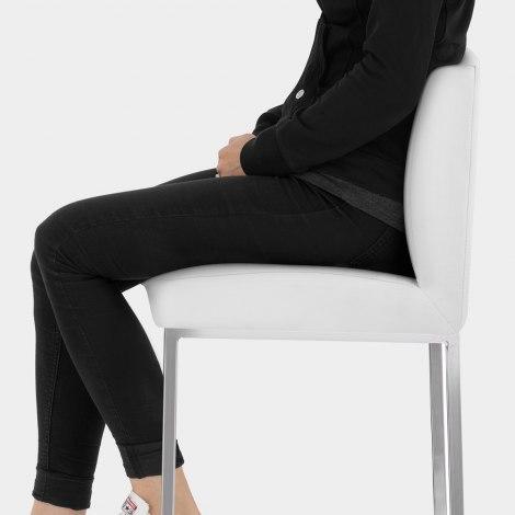 Pacino Stool White Seat Image