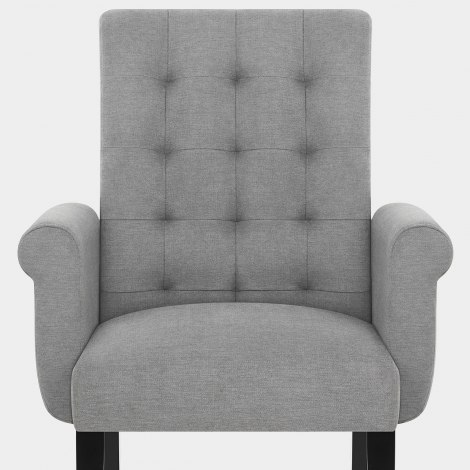Packwood Dining Chair Light Grey Seat Image