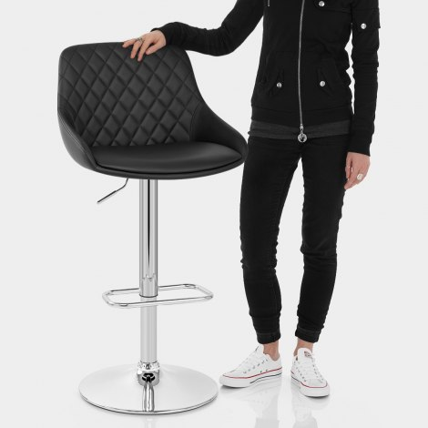 Palace Bar Stool Black Features Image