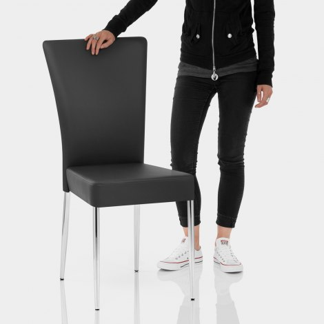 Picasso Dining Chair Black Features Image