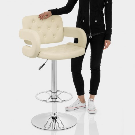Polaris Bar Stool Cream Features Image