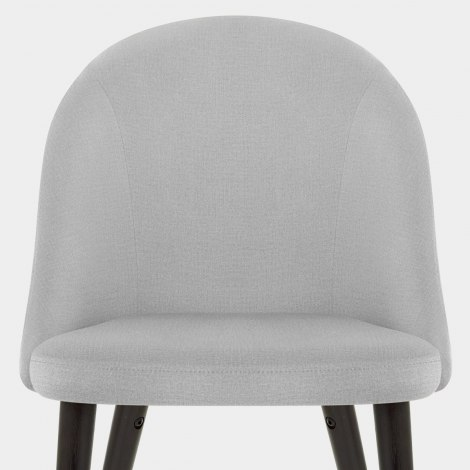 Polo Dining Chair Grey Fabric Seat Image