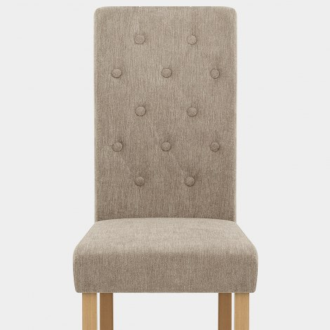 Portland Dining Chair Mink Fabric Seat Image