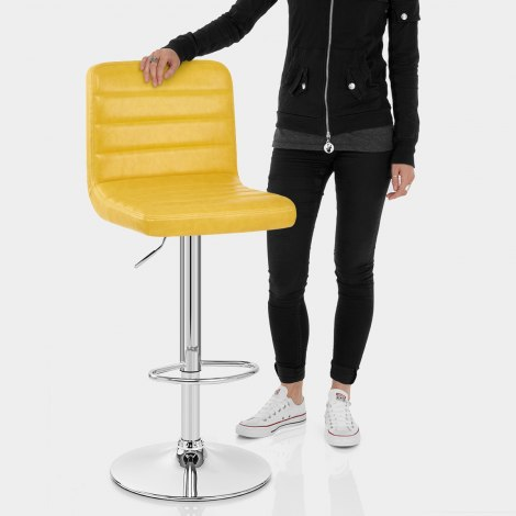 Prime Bar Stool Antique Yellow Features Image