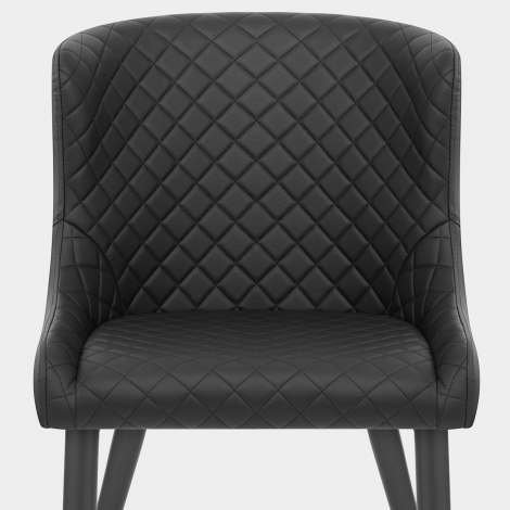 Provence Dining Chair Black Seat Image