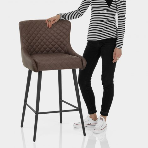 Provence Bar Stool Brown Features Image
