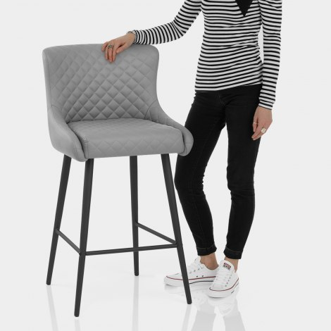Provence Bar Stool Grey Features Image