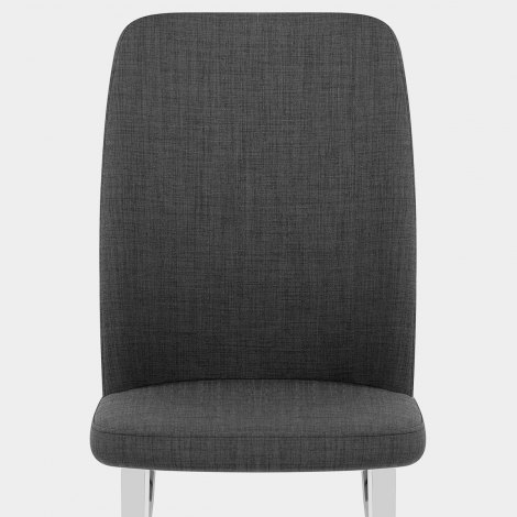 Radley Dining Chair Charcoal Fabric Seat Image