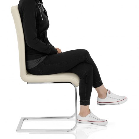 Renoir Dining Chair Cream Seat Image