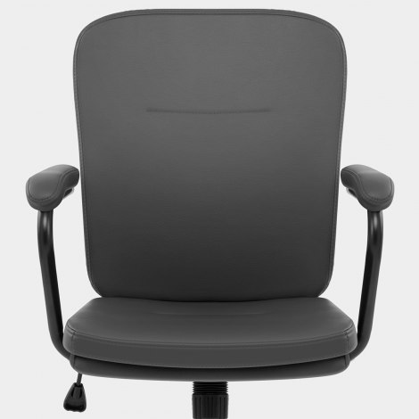 Ricardo Office Chair Grey Seat Image