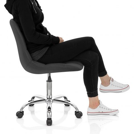 Rochelle Office Chair Black Frame Image