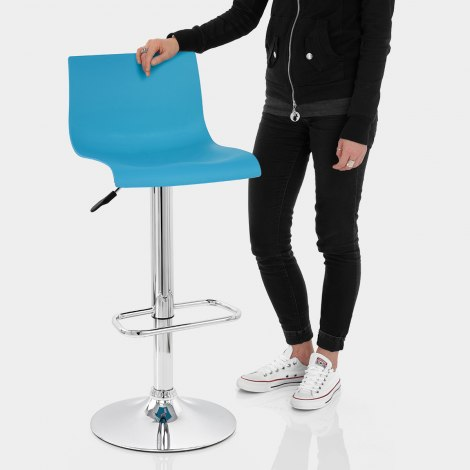 Serena Bar Stool Blue Features Image