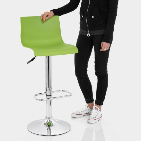 Serena Bar Stool Green Features Image