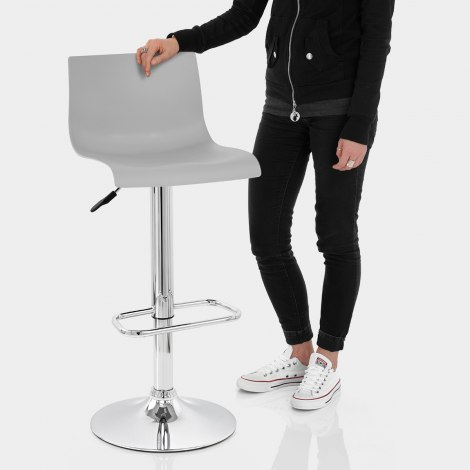 Serena Bar Stool Grey Features Image