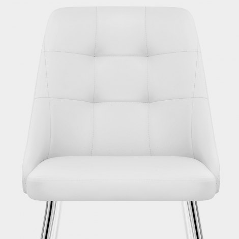 Shanghai Dining Chair White Seat Image