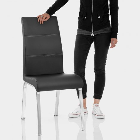 Sherman Dining Chair Black Features Image