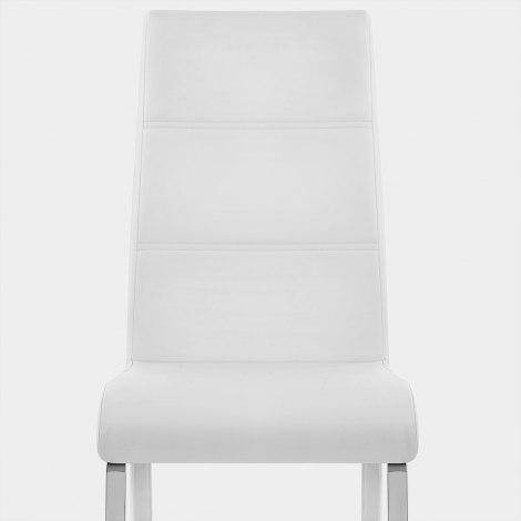 Sherman Dining Chair White Seat Image